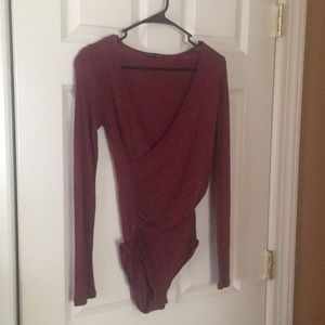 Zara woman's bodysuit